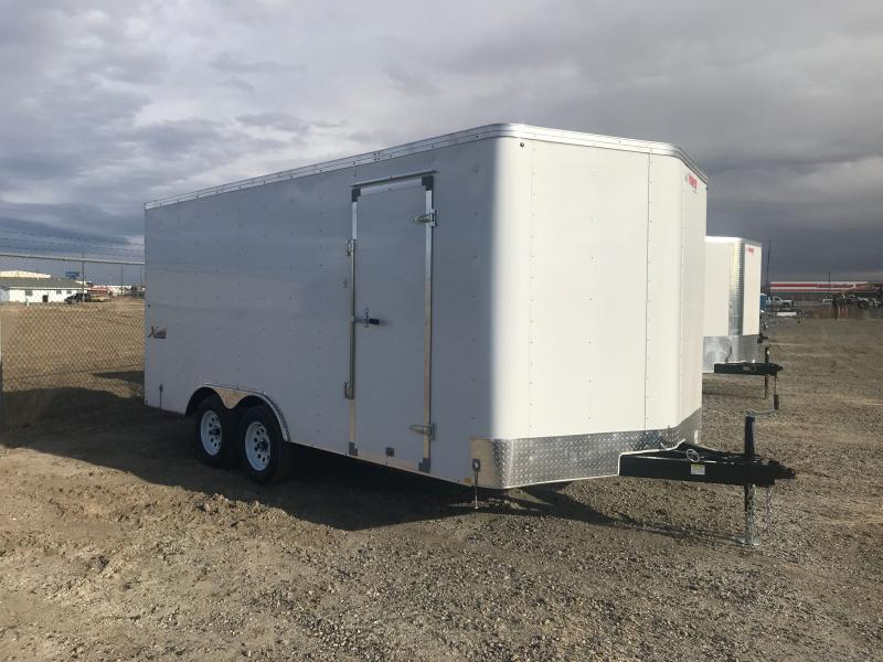 2021 Mirage Trailers 8.5 X 16 XPRESS DOUBLE DOORS Enclosed Cargo Trailer