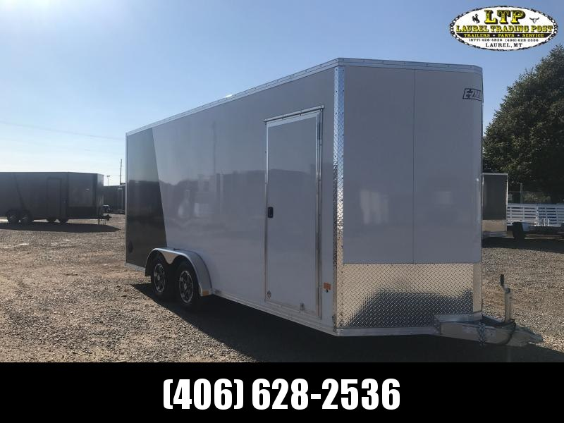 2021 EZ Hauler 7.5 X 18 RAMP Enclosed Cargo Trailer