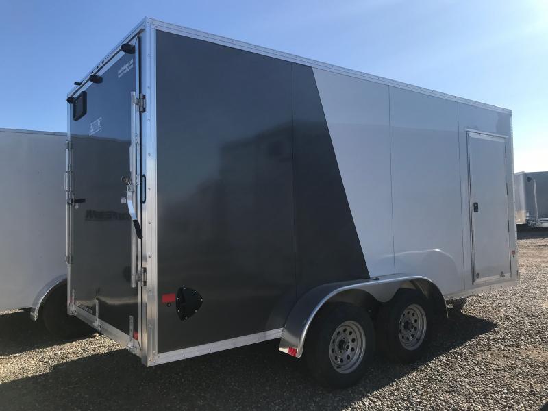 2021 EZ Hauler DURALITE 7X 16 WITH RAMP Enclosed Cargo Trailer