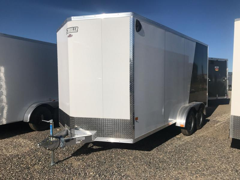 2021 EZ Hauler DURALITE 7X 16 WITH RAMP Enclosed Cargo Trailer