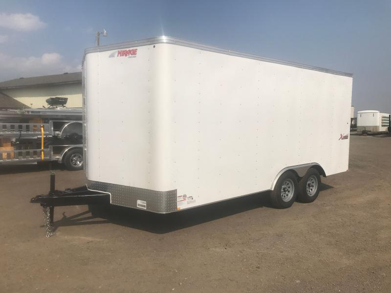 2021 Mirage Trailers XPESS 8.5 X 16 WITH RAMP Enclosed Cargo Trailer
