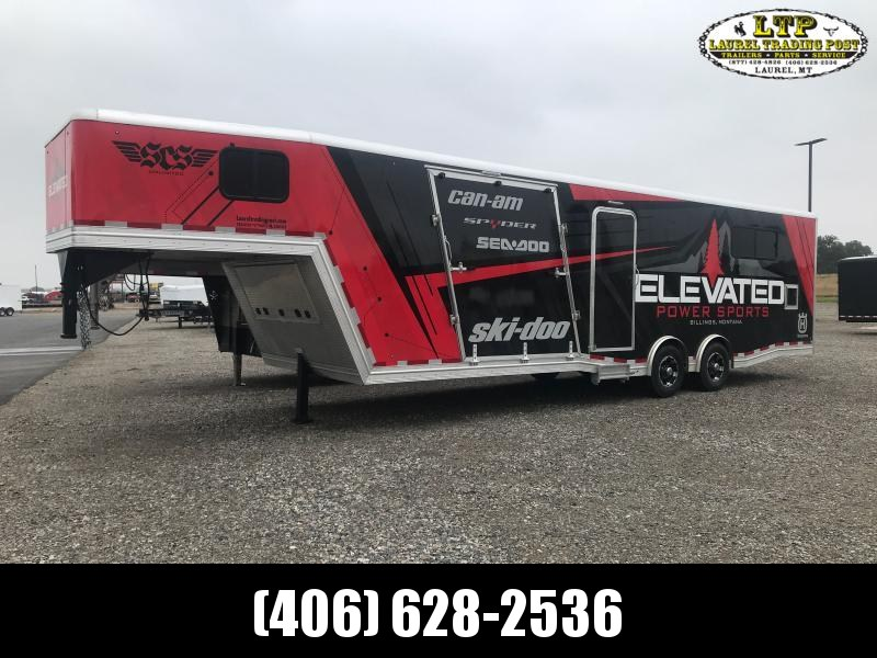 2021 Mission ELEVATION GN Snowmobile Trailer