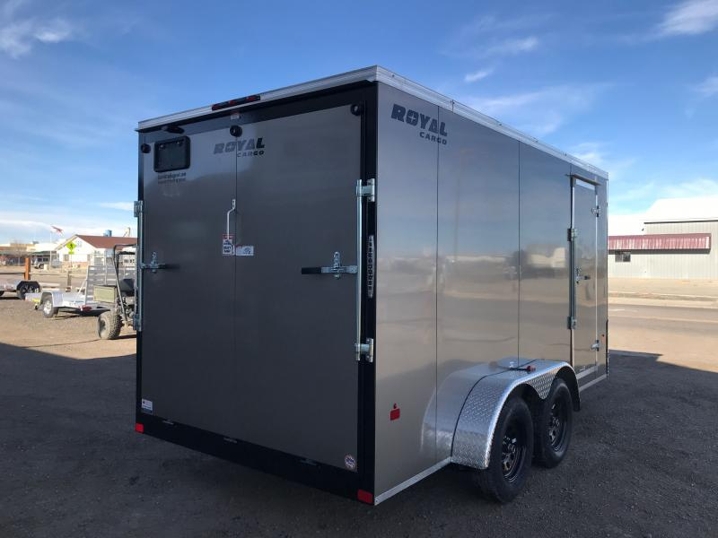 2021 Royal Cargo Trailers 7X14  Enclosed Cargo Trailer