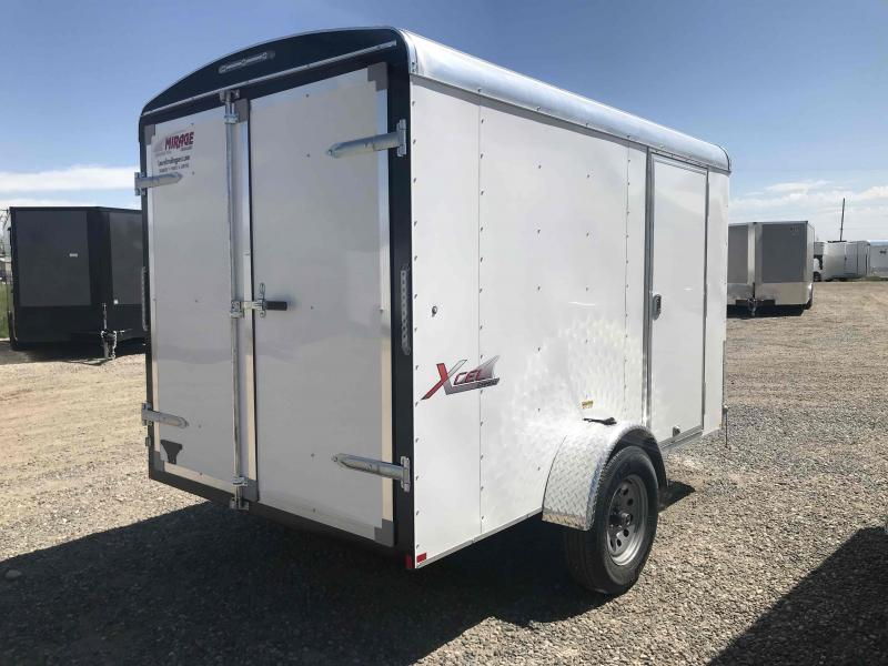 2020 Mirage Trailers 6 X 10 ENCLOSED WITH RAMP Enclosed Cargo Trailer