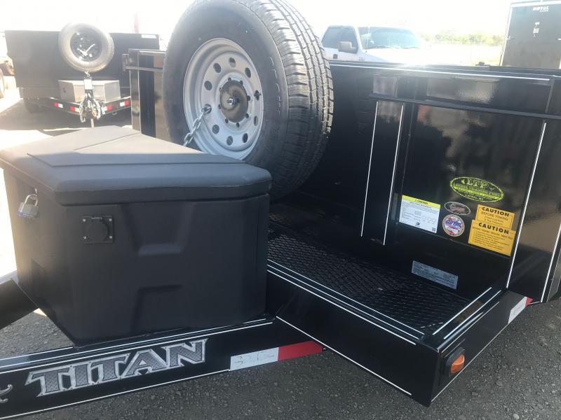 2020 Titan Trailers 82 X 16 BP Dump Trailer