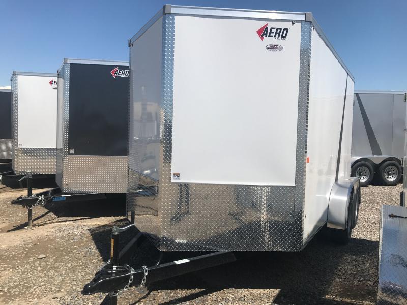 2020 AERO 7 X 12 BP CARGO Enclosed Cargo Trailer