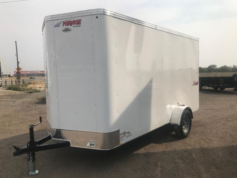 2021 Mirage Trailers XPRESS 6 X 12 WITH DOUBLE REAR DOORS Enclosed Cargo Trailer