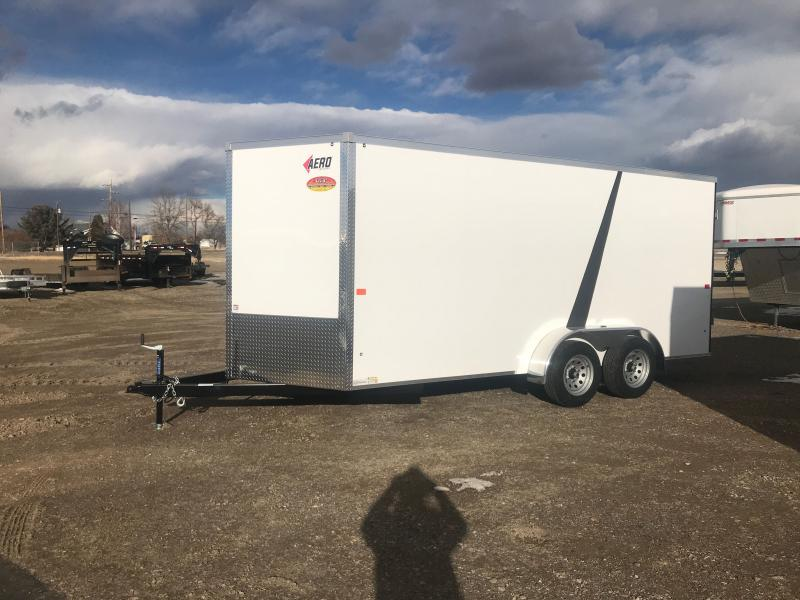 2021 AERO 7 X 16 TANDEM AXLE Enclosed Cargo Trailer