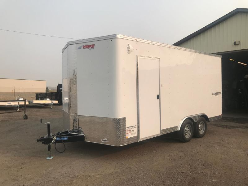 2021 Mirage Trailers 8.5 X 16 SXS XPRESS Enclosed Cargo Trailer