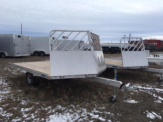 2019 MISSION TRAILERS 12' DRIVE ON DRIVE OFF SNOW TRAILER