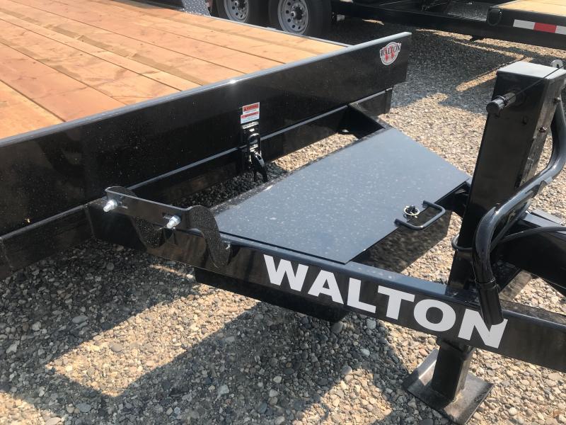 2021 Walton Trailers 20' BP FULL TILT Flatbed Trailer
