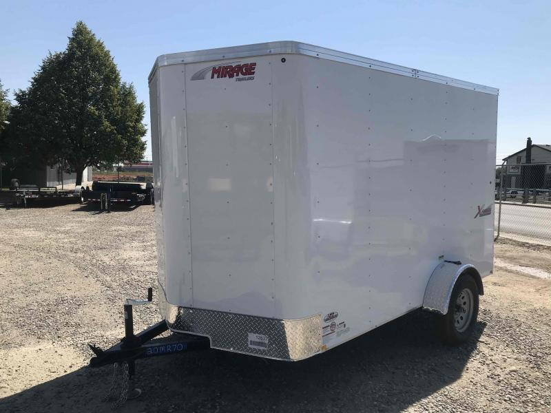 2020 Mirage Trailers XPRESS 6 X 10 W/ RAMP Enclosed Cargo Trailer