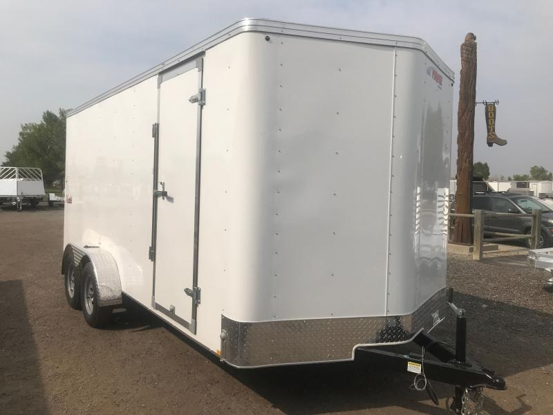 2021 Mirage Trailers XPRES 7 X 16 +V REAR RAMP Enclosed Cargo Trailer