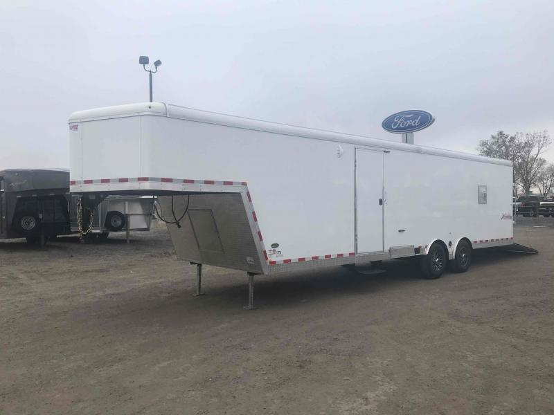 2021 Mirage Trailers GN 28' ON FLOOR SPORT SLED Enclosed Cargo Trailer