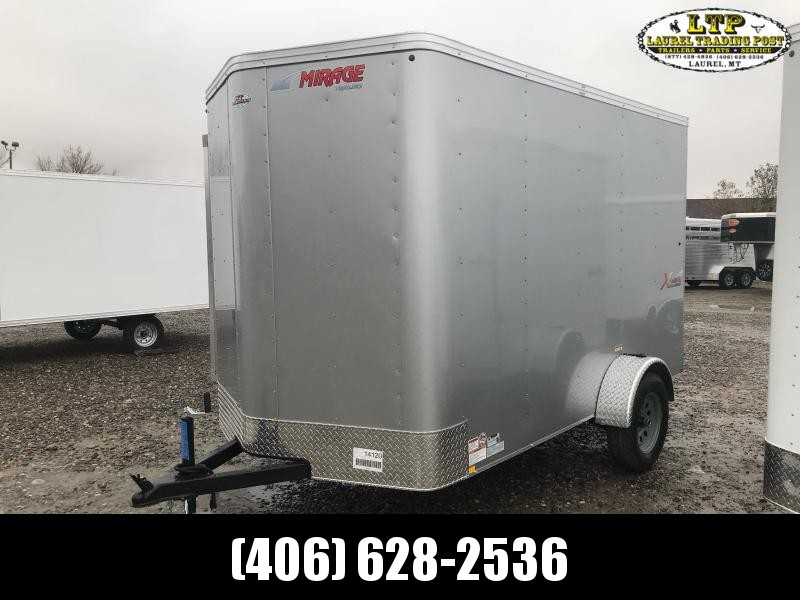 2021 Mirage Trailers XPRESS 6 X 10 WITH RAMP Enclosed Cargo Trailer