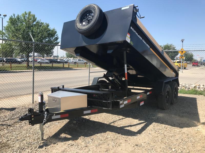2021 Southland Trailers SL270 7X14' BP Dump Trailer