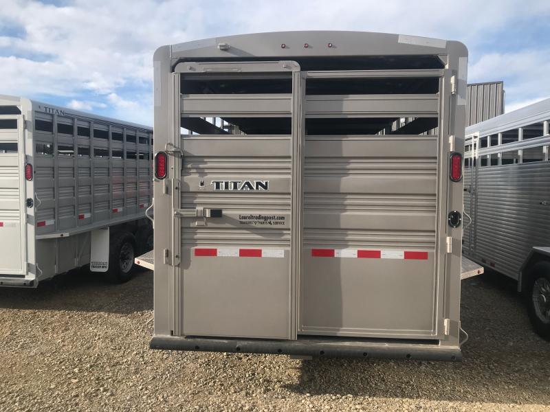 2021 Titan Trailers 18' GN Livestock Trailer