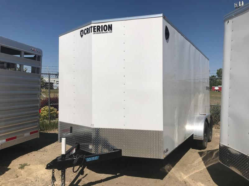 2020 Criterion 7 X 16 DD Enclosed Cargo Trailer