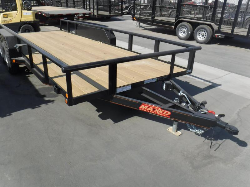 2018 MAXXD CHANNEL CARHAULER Car / Racing Trailer