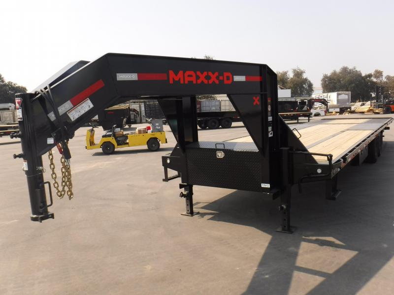 2021 MAXXD LDX10240 Flatbed Trailer