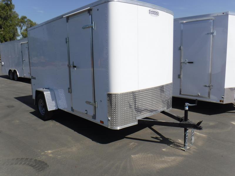 2019 Cargo Express EX6X12S12 Enclosed Cargo Trailer