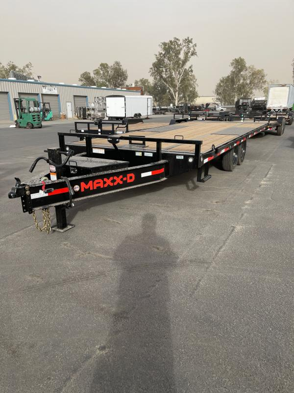 2022 MAXXD TOX10222 Flatbed Trailer