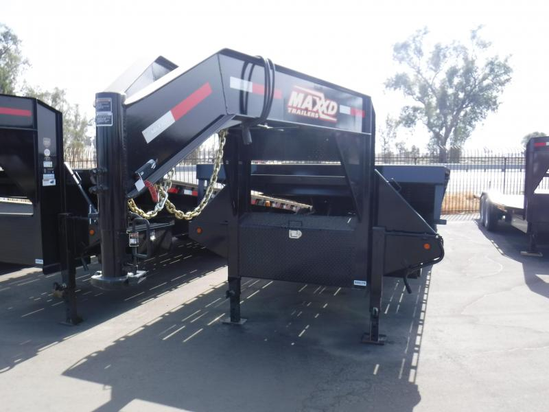 Maxxd Trailers FLATBED TILT DUALS Flatbed Trailer