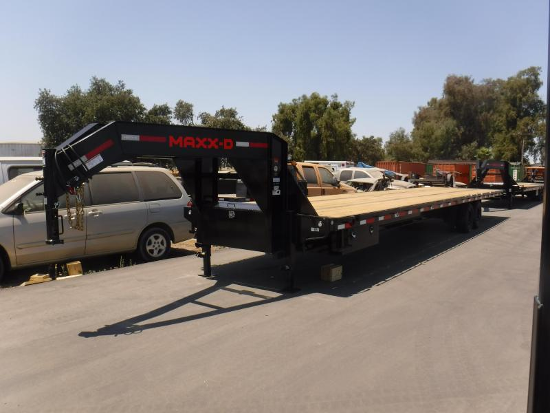 2021 MAXXD TDX10240 Flatbed Trailer
