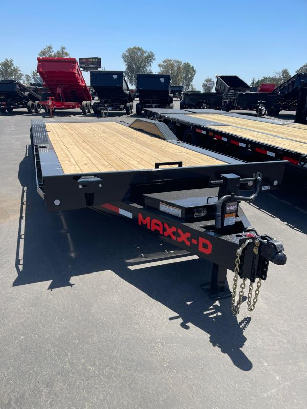 2021 MAXXD T6X10224 Flatbed Trailer