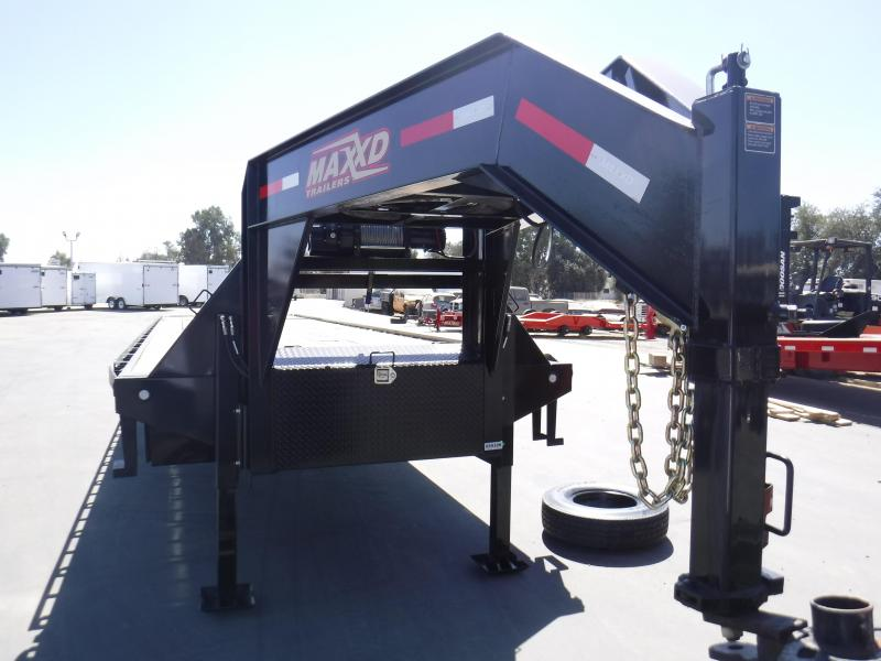 Maxxd Trailers FLATBED TILT WITH DUALS Flatbed Trailer