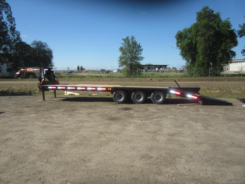 2020 Maxxd Trailers 30X102 LOPRO FLATBED WITH DUALS Equipment Trailer