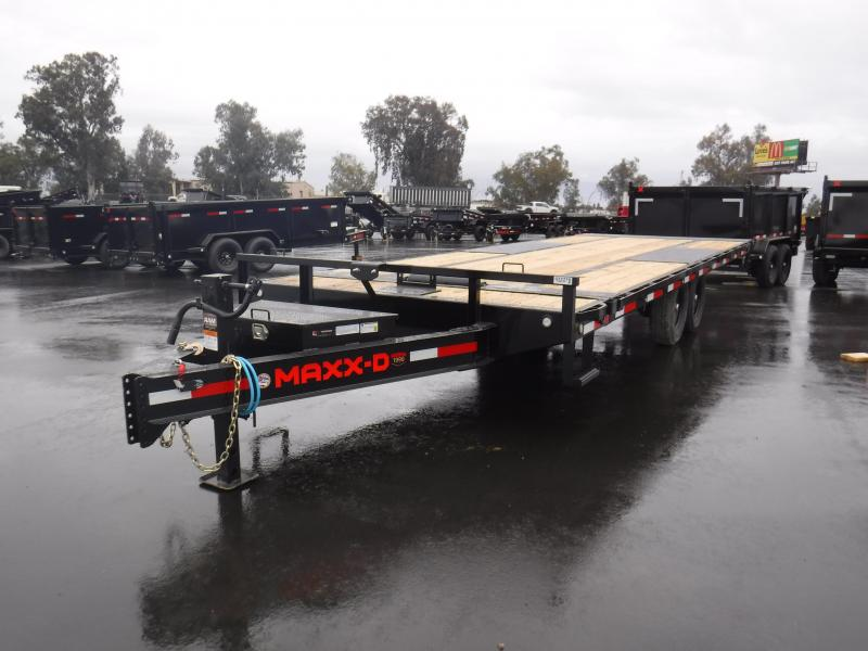 2021 MAXXD TOX10224 Flatbed Trailer