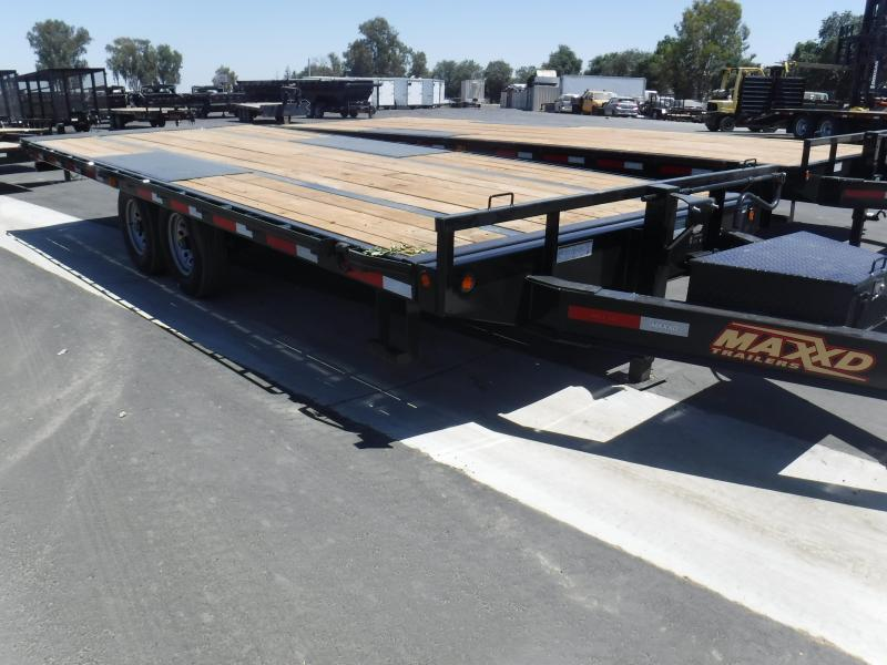 Maxxd Trailers 14K TILT DECKOVER Equipment Trailer