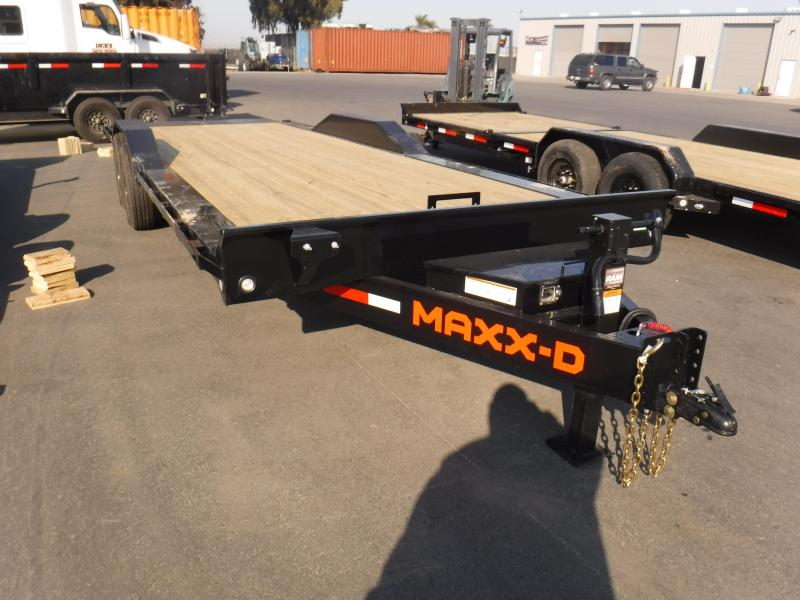 2021 MAXXD T6X10224 Equipment Trailer