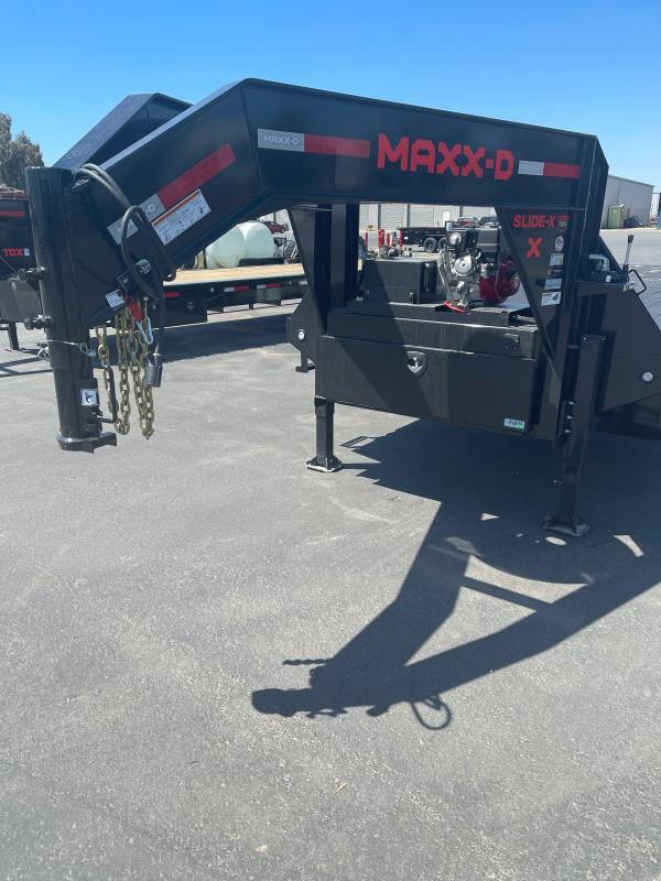 2021 MAXXD TTX10232 Flatbed Trailer