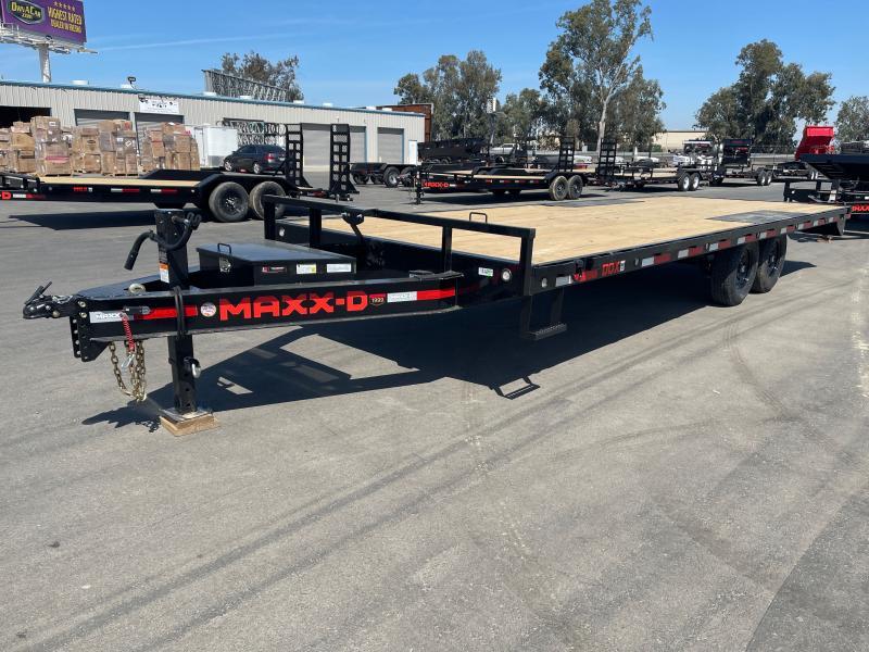 2021 MAXXD DOX10224 Flatbed Trailer