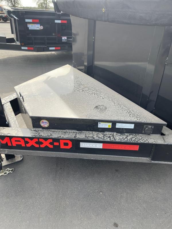 2022 MAXXD DJX8314 Dump Trailer
