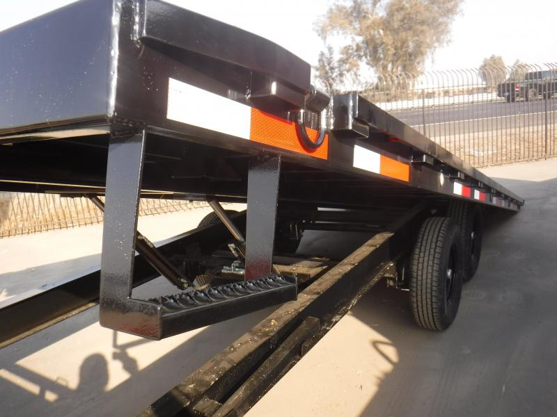 2021 MAXXD TOX10222 Flatbed Trailer