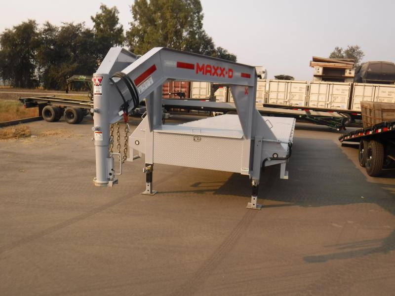 2021 MAXXD TOX10224G Equipment Trailer