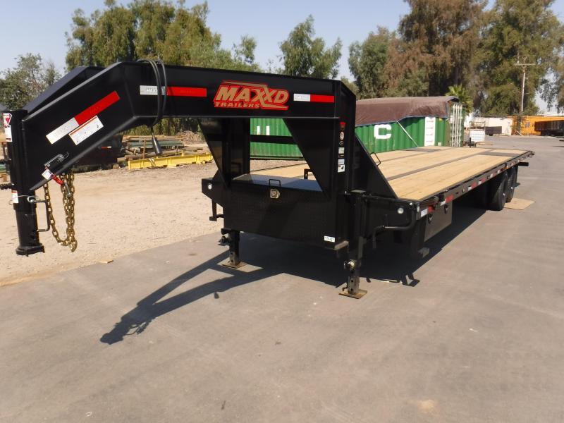 2020 MAXXD TDX10226 Equipment Trailer
