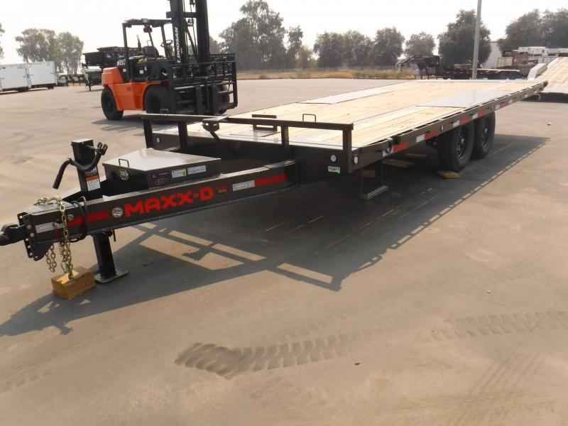 2021 MAXXD TOX10222 Equipment Trailer