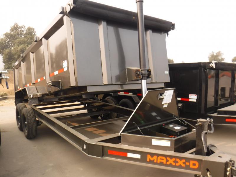 2021 MAXXD DTX8316 Dump Trailer