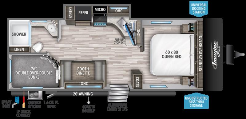 2022 Grand Design RV IMAGINE XLS 23BHE