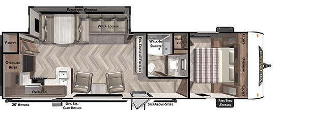 2021 Forest River Inc. WILDWOOD 27RK