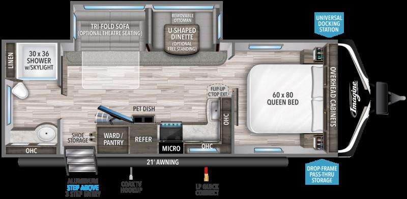 2022 Grand Design RV IMAGINE 2600RB