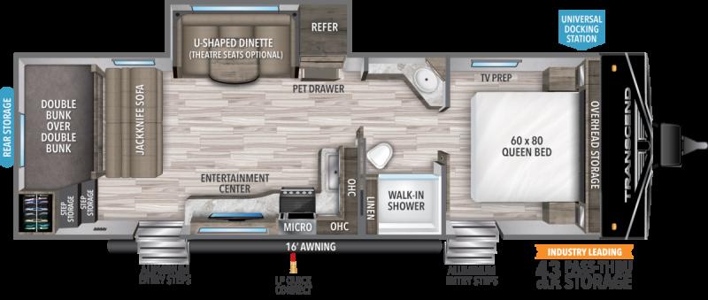 2022 Grand Design RV TRANSCEND XPLOR 265BH
