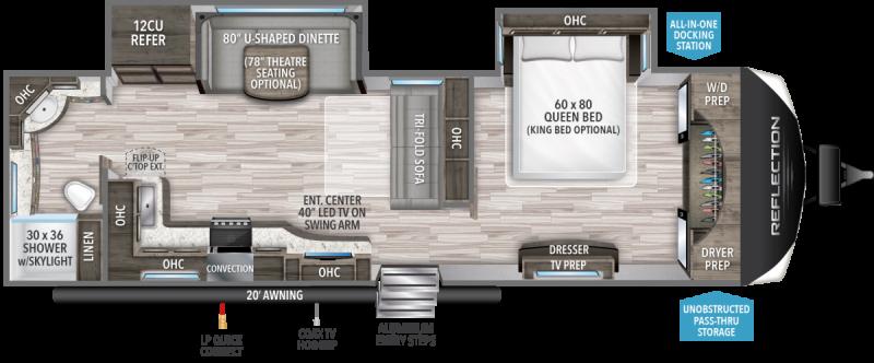 2021 Grand Design RV REFLECTION 300RBTS