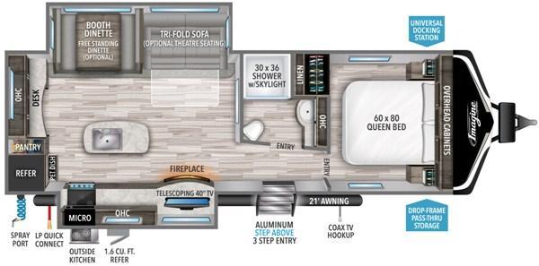2021 Grand Design RV IMAGINE 2670MK