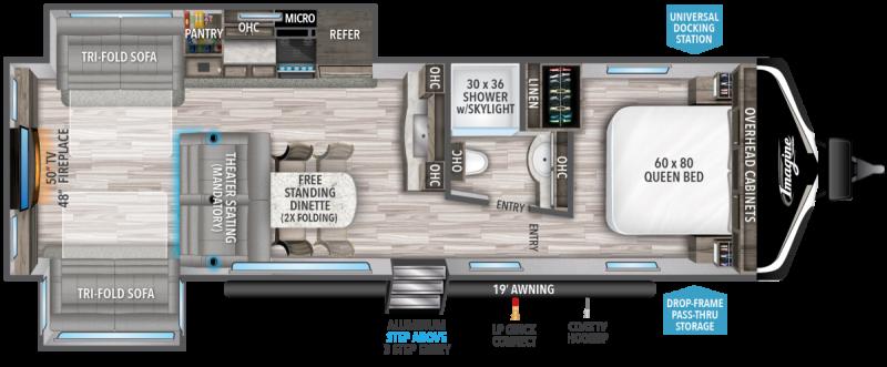 2022 Grand Design RV IMAGINE 3100RD