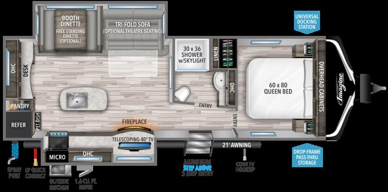 2022 Grand Design RV IMAGINE 2670MK